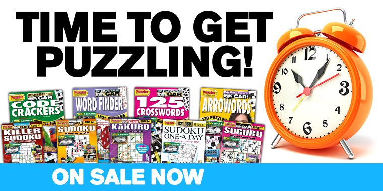 Time to get puzzling with Puzzler magazines!