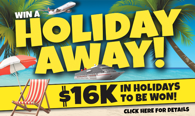 Win a Holiday Away!
