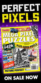 Go large with Mega Pixel Puzzles!
